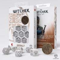 The Witcher Dice Set. Geralt - The White Wolf