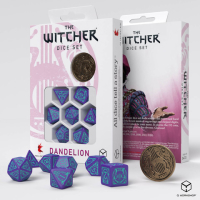 The Witcher Dice Set. Dandelion - Half a Century of Poetry