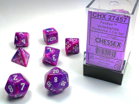 Festive™ Violet w/white Signature™ Polyhedral...