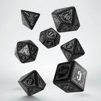 Bloodsucker Black & silver Dice Set (7)