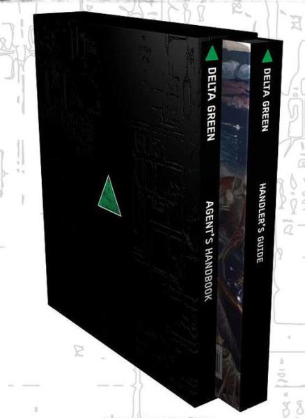 Delta Green RPG Slipcase Reprint ENGLISCH
