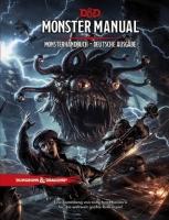 D&D RPG - Monster Manual - Monsterhandbuch DE