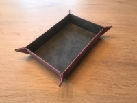 UP - Foldable Dice Rolling Tray - Ruby